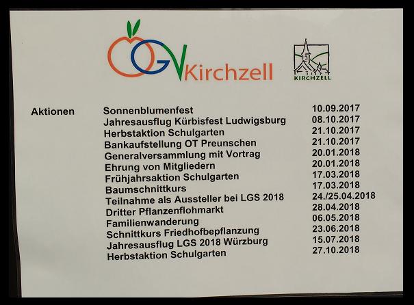 Obst- und Gartenbauverein Kirchzell